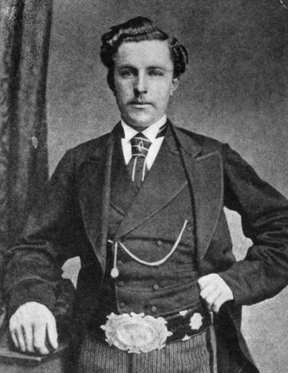 Young Tom Morris. Foto: Getty